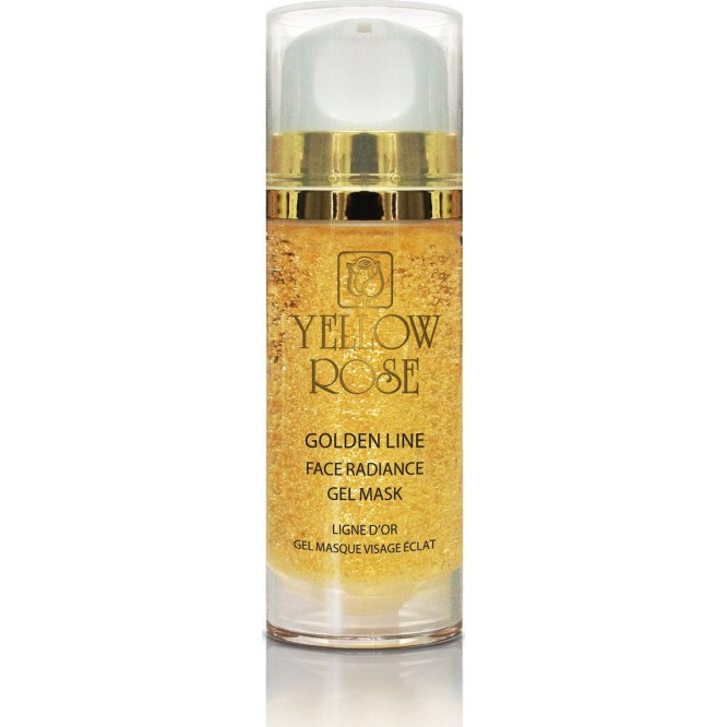Yellow Rose Golden Line Face Radiance Gel Mask (100ml)